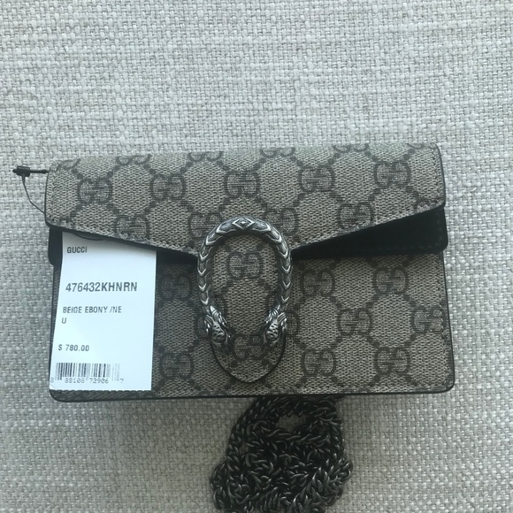 889bea9c5b02 Gucci Bags | Dionysus Gg Supreme Mini Chain Shoulder Bag | Poshmark